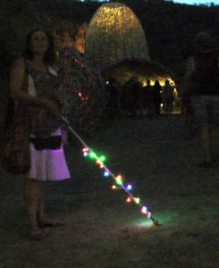 Cane with LED's
